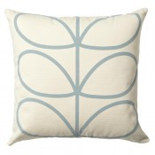 Orla Kiely 'Linear Stem' Cushion - Duck Egg